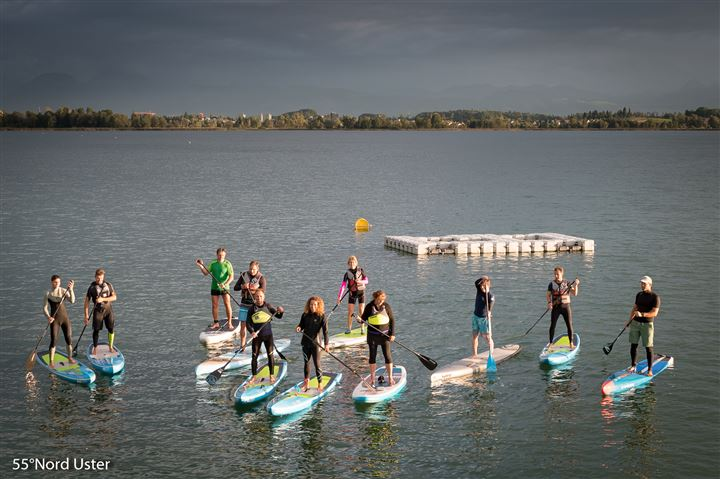 SUP Kurse und SUP Tests